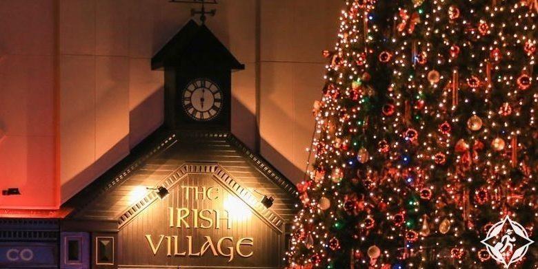 إحتفالات القرية الإيرلندية برأس السنة 2019