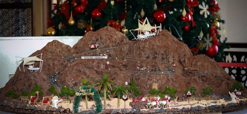 جبل من الشوكولاتة يحاكي جبل جيس