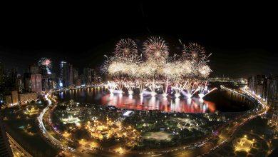 Photo of احتفالات رأس السنة 2019 في واجهة المجاز المائية