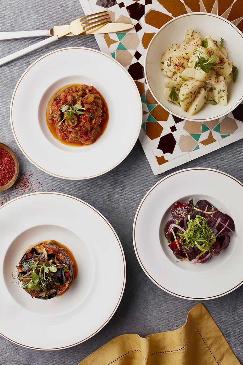 المطعم المغربي باب المنصور في دبي