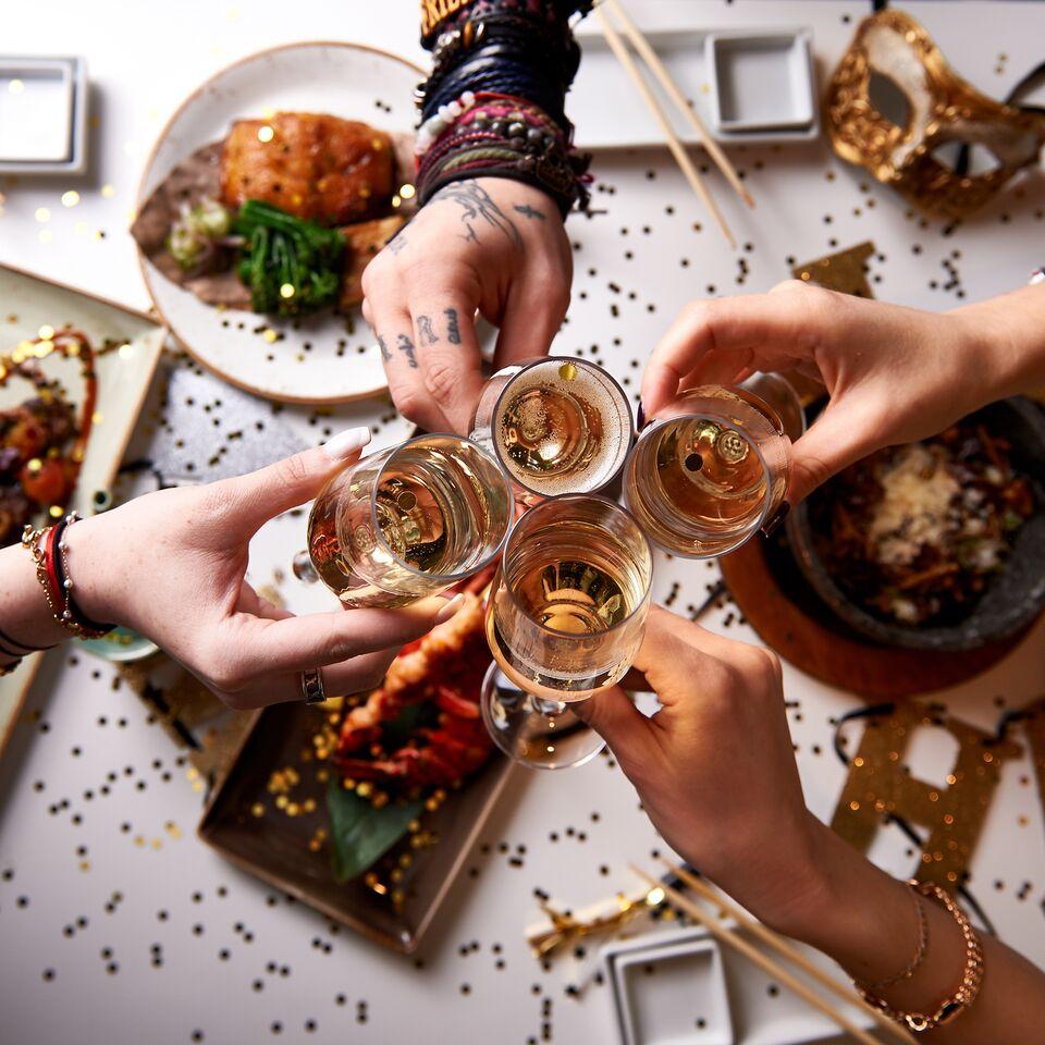 احتفالية ليلة رأس السنة الجديد في مطعم Katsuya