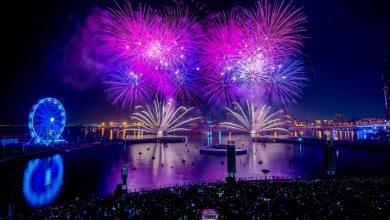 صورة احتفالات رأس السنة في دبي فستيفال سيتي