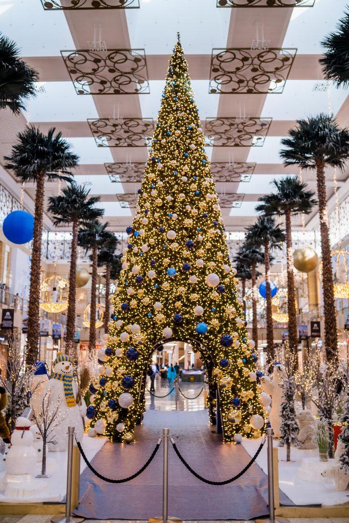 مراكز تسوق ماجد الفطيم في الإمارات خلال موسم الأعياد