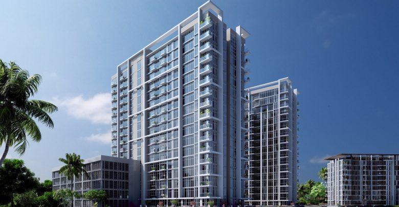 أطول مبنى في مشروع دي 1 ريزيدنسز
