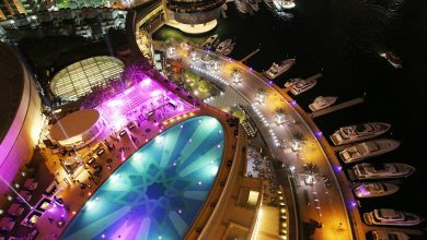صورة احتفالات رأس السنة 2019 في فندق العنوان مرسى دبي