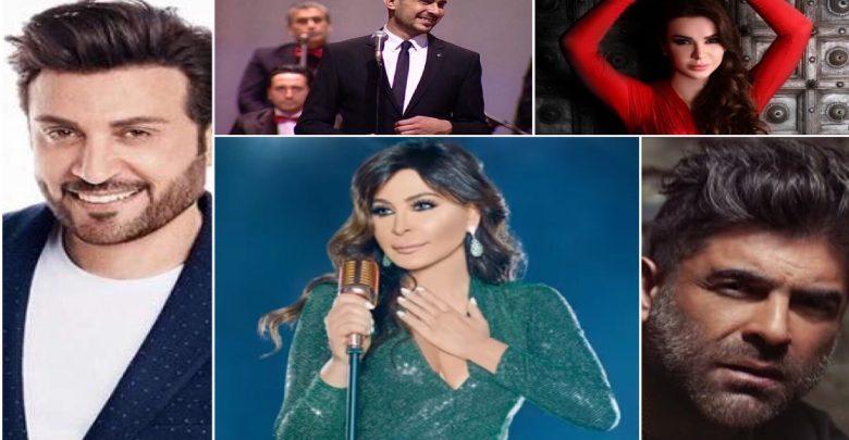 أبرز الحفلات الغنائية في دبي خلال رأس السنة 2019