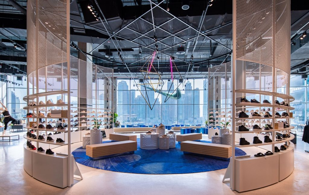 متجر Nike الجديد في دبي مول