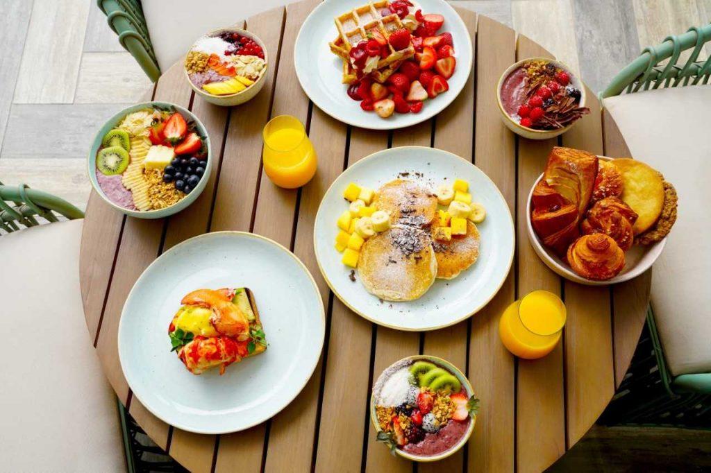 أطباق الفطور الجديدة من نويبيه في بارك حياة