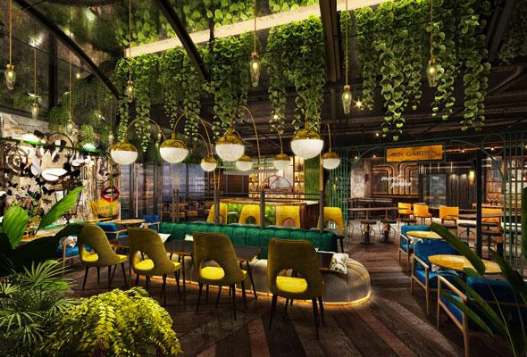 مطعم مشروع لندن