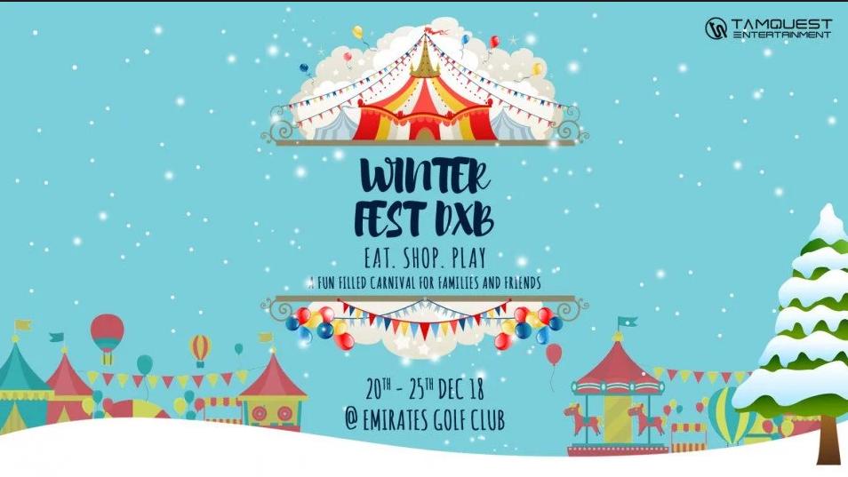 حفل Winterfest DXB