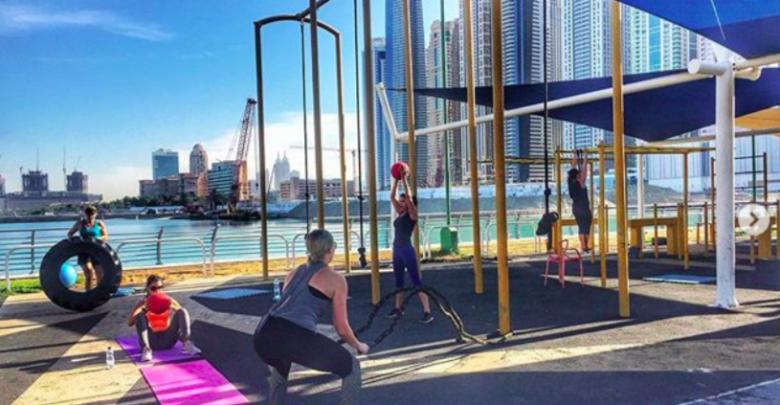 أماكن مجانية لممارسة الرياضة في دبي
