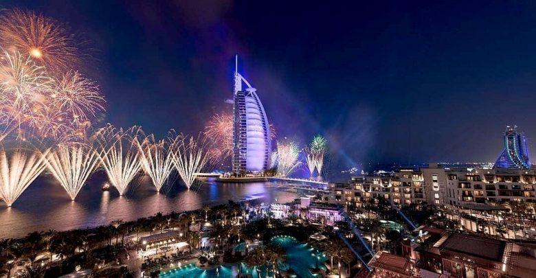 أفضل الوجهات لمشاهدة الألعاب النارية في دبي خلال رأس السنة 2019