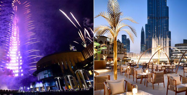 7 مطاعم لمشاهدة ألعاب برج خليفة النارية خلال رأس السنة عين دبي