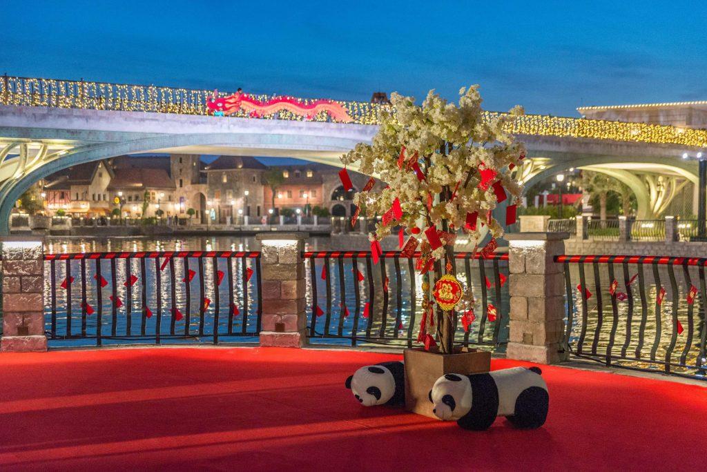 احتفالات السنة الصينية الجديدة في دبي باركس آند ريزورتس