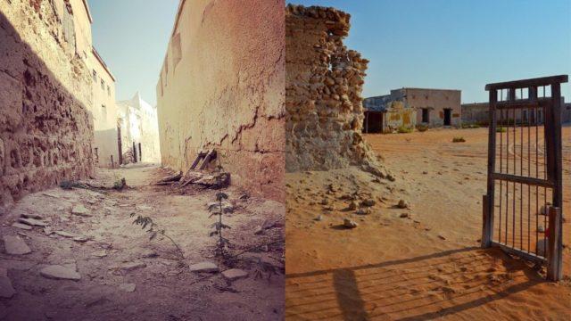 قرية الاشباح في رأس الخيمة Ghost village in RAK