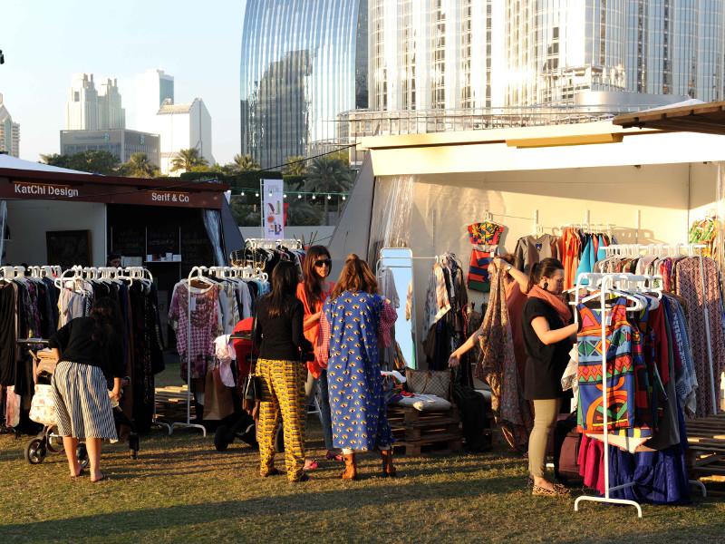 السوق الموسمي في دبي