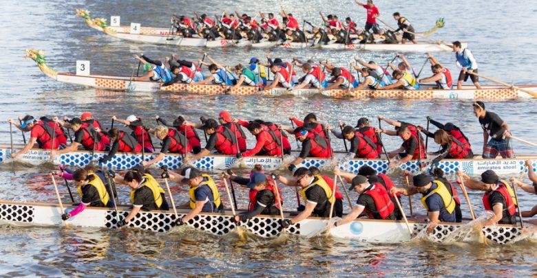 سباق قوارب التنين