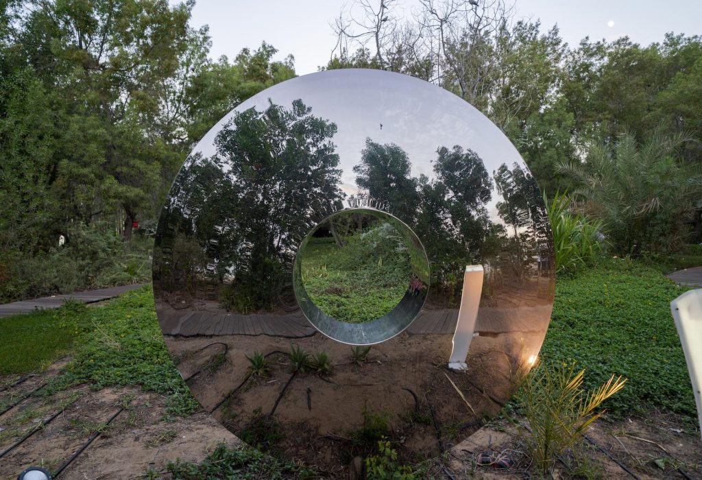 مجسم تورس في جزيرة النور بالشارقة