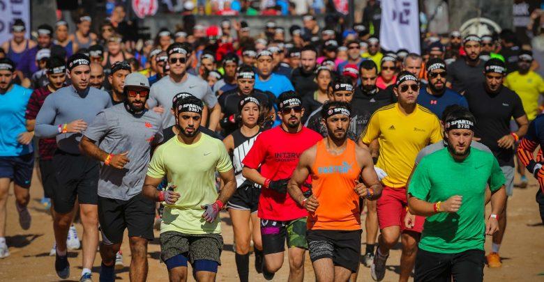 فعاليات سباق سبارتن في مليحة في العام 2016