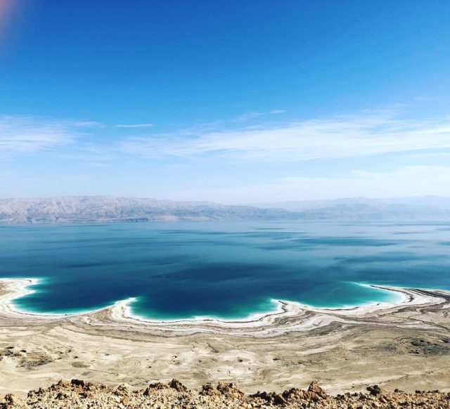 البحر الميت في الأردن Dead Sea in Jordan