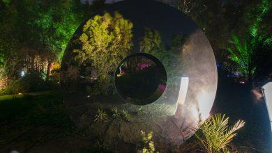 صورة مجسم تورس في جزيرة النور بالشارقة