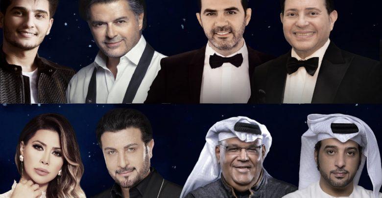 حفلات النجوم العرب في مسرح المجاز بالشارقة