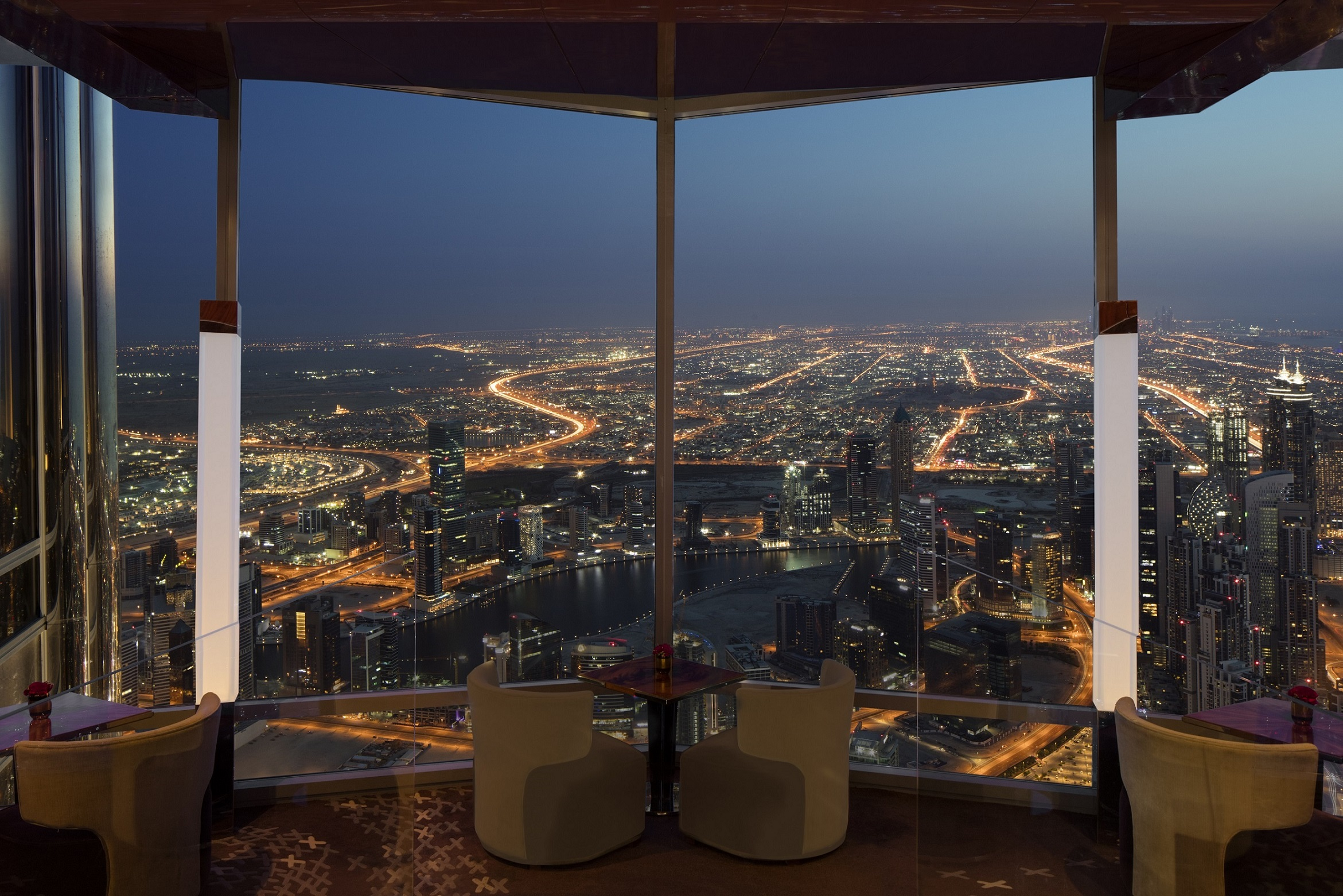 احتفالات عيد الحب 2019 من أتـموسفير في برج خليفة عين دبي