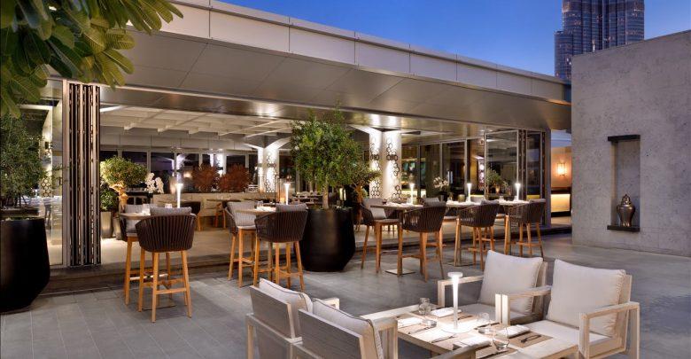 مطعم كابانا في فندق العنوان دبي مول