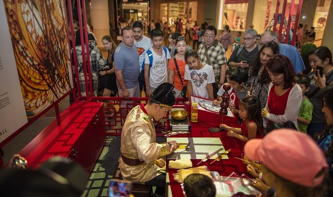 احتفالات السنة الصينية الجديدة في دبي مول
