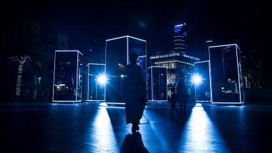 صورة تعرف على حديقة وسط مدينة دبي للأضواء