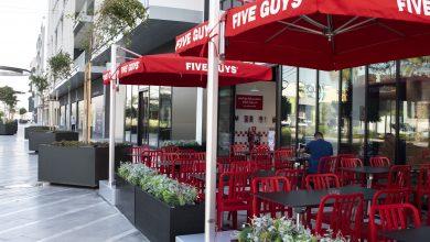 صورة افتتاح مطعم فايف جايز في سيتي ووك