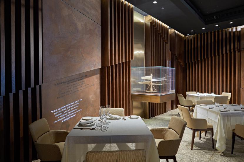 مطعم ليوناردو للمأكولات الإيطالية في دبي