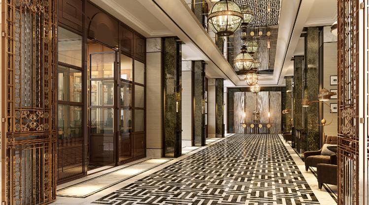 إفتتاح فندقوالدورف أستوريا مركز دبي المالي العالمي في دبي