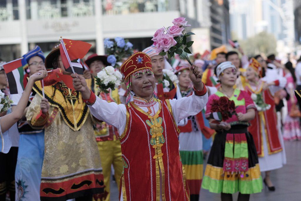 احتفالات رأس السنة الصينية في دبي