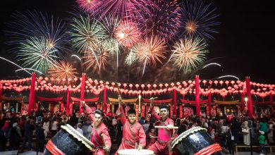 Photo of احتفالات رأس السنة الصينية في جزيرة الماريه