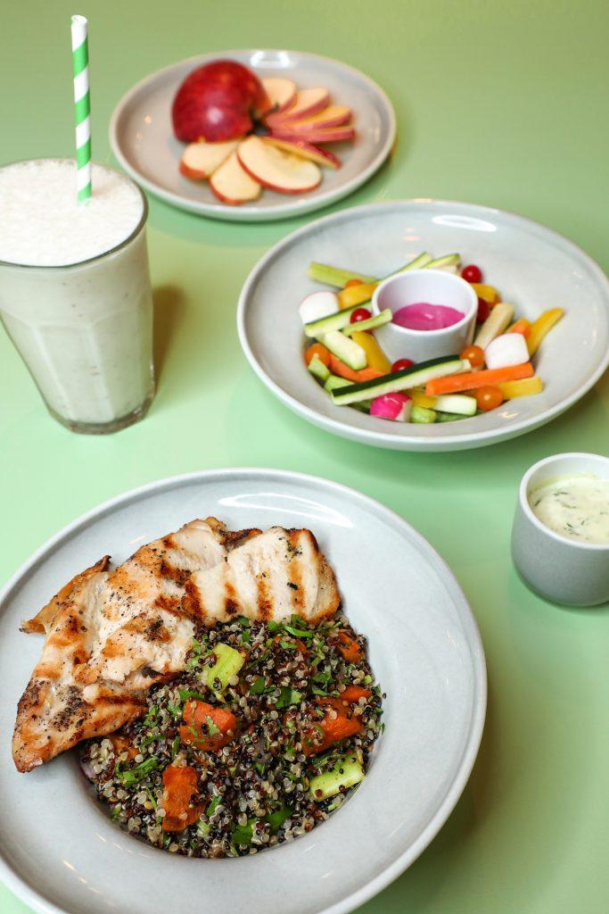 الباقات الغذائية الصحية من مطعم فلو