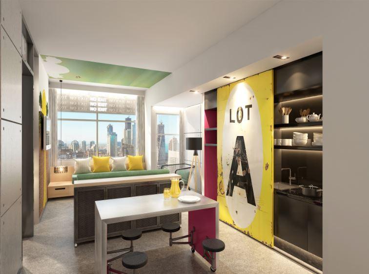 فندق استديو ون في مدينة دبي للاستديوهات