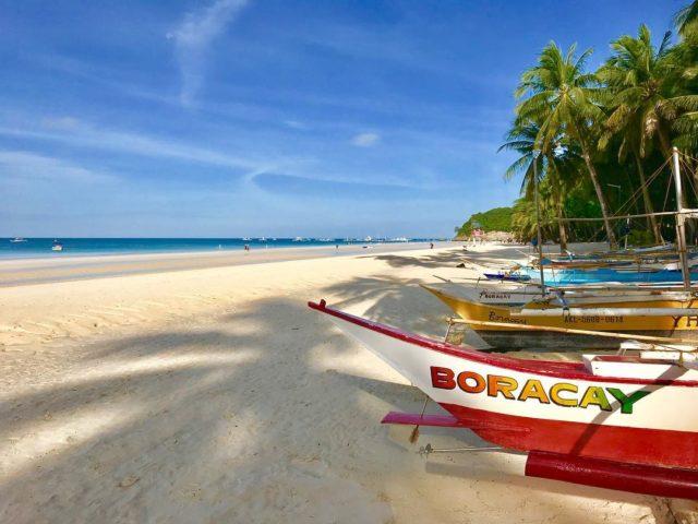 جزيرة بوراكاي ، الفلبينBoracay Island, Philippines