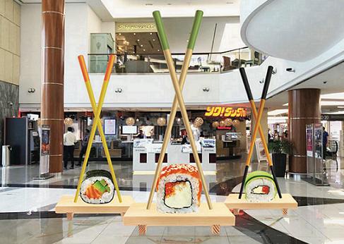 مهرجان المأكولات العالمية في مركز برجمان