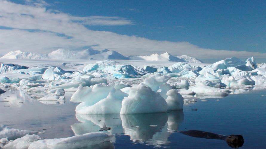 القطب الجنوبي أبرد منطقة بالكرة الأرضية