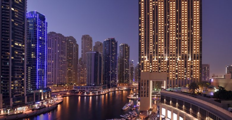 العنوان مرسى دبي