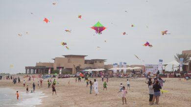 صورة مهرجان الطائرات الورقية 2019 في جزيرة صير بني ياس
