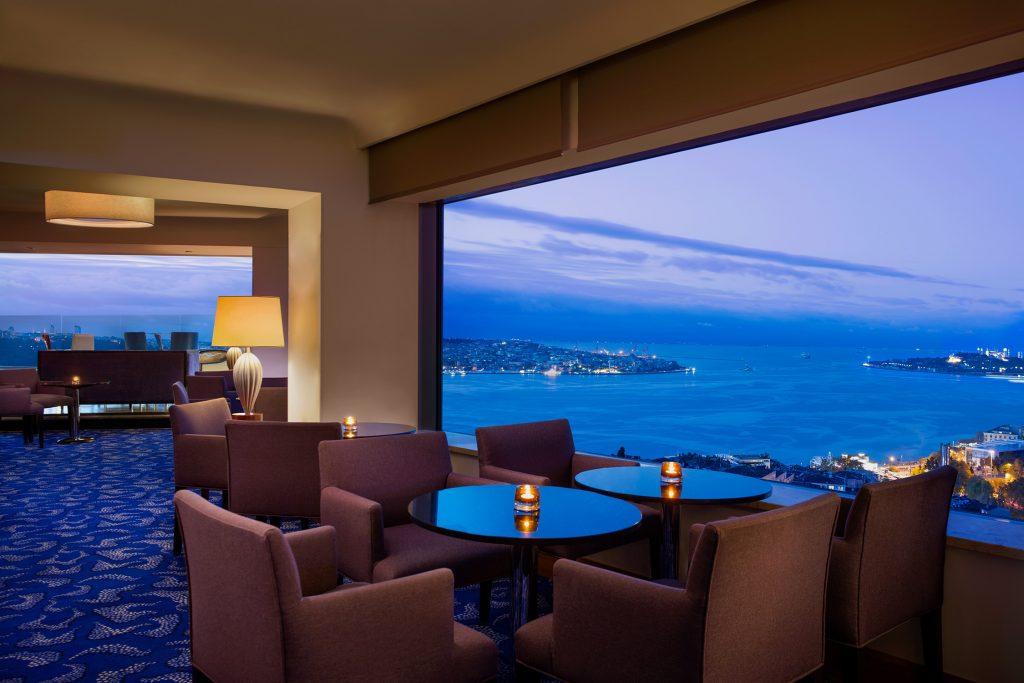 فندق كونراد اسطنبول البوسفور
