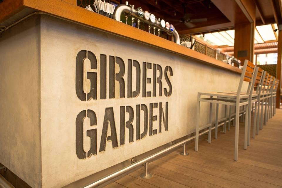 مقهى Girders Garden