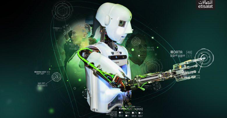 مركز التميز الروبوتي من اتصالات