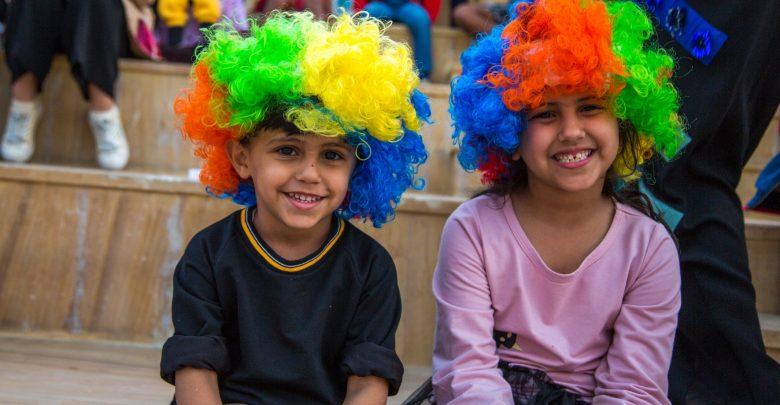 مهرجان الصغار في القرية العالمية