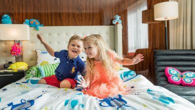 صورة تعرف على غرف الأطفال من سويس أوتيل الغرير