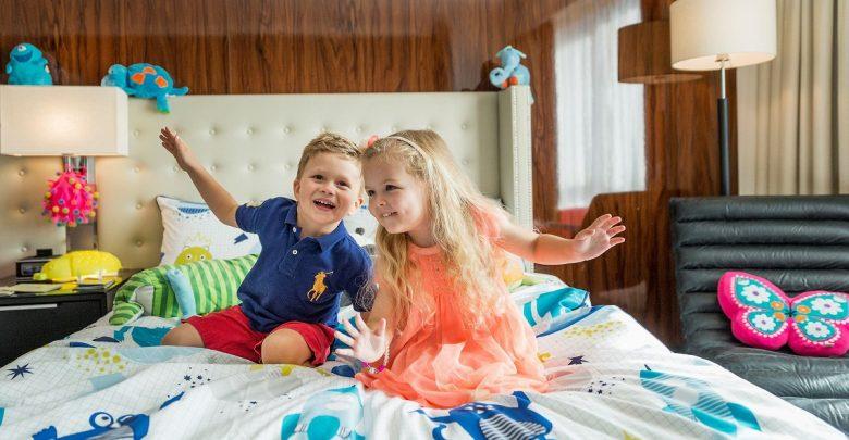 غرف الأطفال من سويس أوتيل الغرير