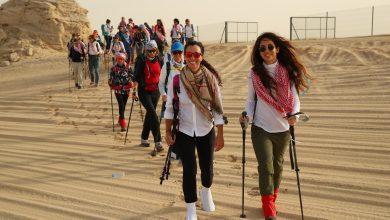 Photo of مسيرة النساء التراثية للمغامرة الصحراوية الخامسة