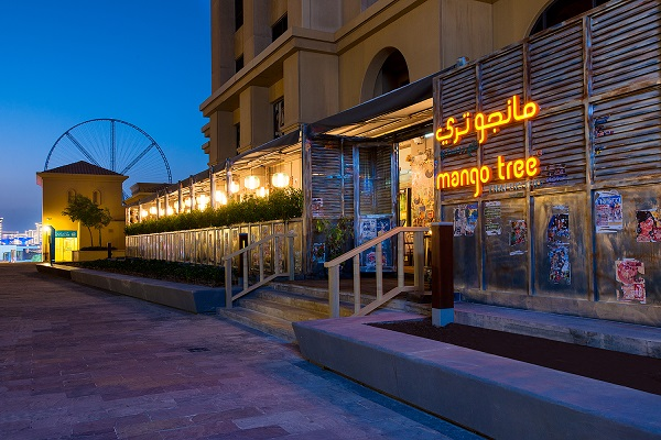 المطعم الجديد مانجو تري تاي بيسترو